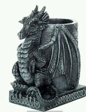 "CONCRETE PLASTER MOLD LATEX ONLY  4.5 "" tall dragon planter"