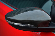 TO FIT VW VOLKSWAGEN BEETLE 2012+: CARBON FIBRE WING MIRROR TRIM SET COVERS CAPS