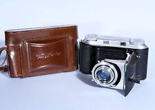 Voigtlander Bessa II Folding Camera + Color Heliar 105mm f/3.5 Lens * Excellent
