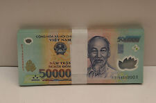 1,000,000 VIETNAM DONG (2x 500,000) Bank Note Vietnamese Currency UN/CIRCULATED