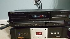 Kenwood KX-W4070 Recordable Stereo Double Cassette Tape Recording Deck Japan