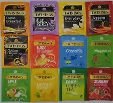 Twinings Tea Starter/Refill Pack 50 teabags 12 Flavour