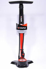 Zefal Profil Max FP50 Bicycle Floor Pump Presta/Schrader Valve,Red