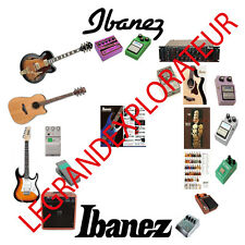 Ultimate Ibanez Owner Service Schematics Manuals Catalogs   500 manual s on DVD