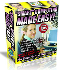 """SMART"" COMPUTING MADE EASY! PDF EBOOK FREE SHIPPING RESALE RIGHTS"