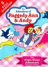 The Adventures of Raggedy Ann & Andy: The Magic Wings Adventure (DVD, 2014)