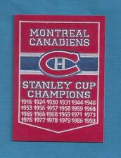 Montreal Canadiens 24  Stanley Cup  Champions  HQ GLOSSY  FRIDGE MAGNET