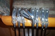 BRAND NEW Spalding Touring Pro 3-pw irons  steel shaft RH ladys 1 inch short