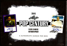 2015 Leaf Pop Century 12-box hoby case Gene Wilder Megan Fox Carrie Fisher auto?
