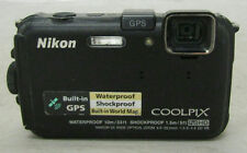 Nikon CoolPix Model AW100 Black 16.0 MP Waterproof Digital Camera Tested