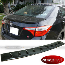 For 14-16 Corolla Carbon Painted Vortex Generator Shark Fin Roof Wing Spoiler