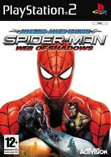 PS2 Uomo Ragno Spiderman - Web of Shadows RARO gioco per Playstation 2 Nuovo