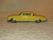 "Vintage Tin Miyazawa Tin Friction 1954 Studebaker Toy Car 8.5"" Wipers Japan"