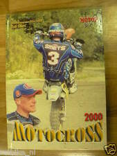 MOTORCROSS 2000 YEARBOOK MOTORGAZET,SMETS,BEIRER,CAPPINS,KING,EDBERG,VICO,MX