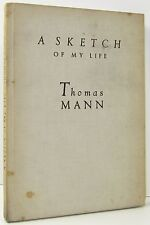 THOMAS MANN A Sketch Of My Life LIMITED EDITION 503/695 AUTOBIOGRAPHY 1930