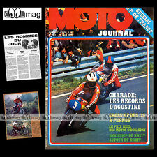 MOTO JOURNAL N°167 TRIAL CHARLES COUTARD GRAND PRIX DE FRANCE BARRY SHEENE 1974