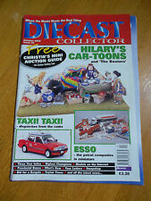 DIECAST COLLECTOR MAGAZINE #36 OCT 2000 ESSO TAXI HILARY'S CAR-TOONS BOOTERS