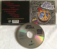 Cryptic Slaughter - Speak Your Peace CD ORG ENIGMA/METAL BLADE excel wehrmacht