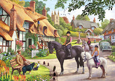 Gibsons - 500 PIECE JIGSAW PUZZLE - A Ride With Mum