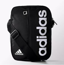 adidas mini shoulder messenger bag (BLACK/WHITE) 100% genuine!!.