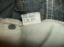 VINTAGE Levi's 505 W36 L-32 MADE IN THE USA!  36X32  505-0217 red  tag OLD