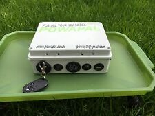 powapal mk3r+12v portable power station for carp fishing bivvy power pack mobile