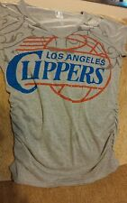 L.A. CLIPPERS WOMENS SHIRT sz M