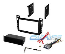 CAR STEREO RADIO RECEIVER DASH INSTALLATION MOUNTING KIT W/ WIRING HARNESS PLUG