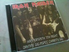 Iron Maiden Double CD Hammersmith London England Somewhere In Time Tour 86