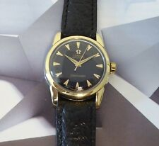 Vintage 1957 Men's Omega Automatic Seamaster 17Jewels Boy Size 1 Year Warranty