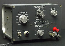 GR General Radio 1311-A Audio Oscillator 1311A Tested Working 50Hz-10kHz to 100V