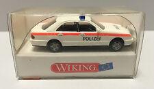 Wiking 104 09, Polizei Mercedes Benz E 230, Maßstab 1:87, H0, NEU in OVP
