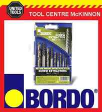 BORDO 9900-SM2 10pce SCREW EXTRACTOR SET WITH MATCHED LEFT HAND DRILL BITS