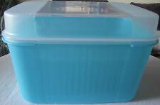 Tupperware A 04 Schatztruhe Schatzkiste 7,3 l Hellblau Blau / Klar Neu OVP