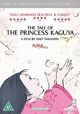 STUDIO GHIBLI  THE TALE OF THE PRINCESS KAGUYA   NEW SEALED UK  DVD
