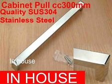 Cabinet Pull 300x20x30mm-Polished stainless steel