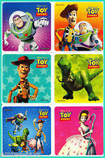 Toy Story Stickers x 12 - Brthday Party Favours - Buzz Lightyear & Woody- Disney