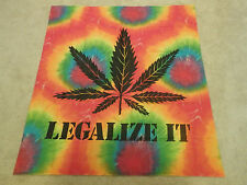 Tie-Dyed Legalize It Tapestry Wall Hanging Banner Poster Marijuana Pot Leaf Weed