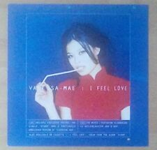"VANESSA MAE -Promotional 12"" x 12"" Card (Flat) I FEEL LOVE (ideal for framing)"