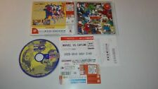MARVEL VS CAPCOM   SEGA  DREAMCAST  JAPONES DC CON SPINE CARD