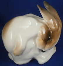 Cute Nymphenburg Porcelain Rabbit / Bunny Figure Figurine Porzellan Hase Figur