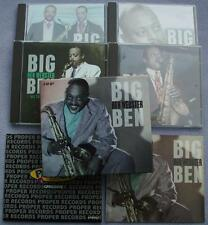 BEN WEBSTER Big Ben 4 CD BOX SET Proper TENOR SAX Swing Bop Jazz