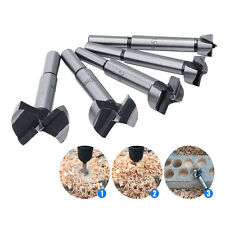 5Pcs 15/20/25/30/35mm Wood Drill Bit Wood Drills Boring Hole Saw Cutter Tool New