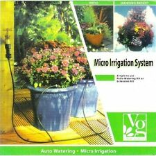 Patio Deck Porch Automatic Watering Kit Micro Irrigation System 50 ft Hose NEW