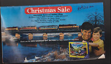 Walthers Hobby Shop Christmas Sale 2000 Catalog Trains