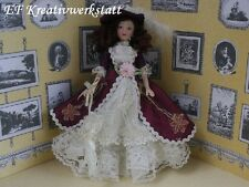1:12 PORZELLANPUPPE Frau Scarlett PD120 für die Puppenstube