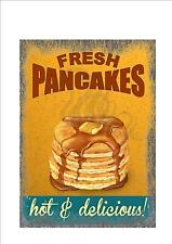 American Retro Style Diner Sign Cafe Sign pancakes Retro Sign Kitchen Sign