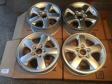 NEW 99-04 Jeep WJ Jeep Grand Cherokee Overland Rims Rogue Silver SET OF 4 - OEM