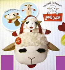 "Lamb Chop Fancy Pal Purse - by Aurora World - 10"" - BRAND NEW - #15257"