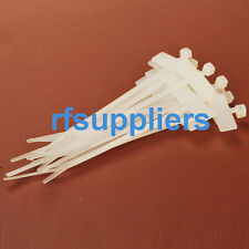 100pcs 2.5*100mm Label tie Network Cable Cord Wire Strap Zip Nylon